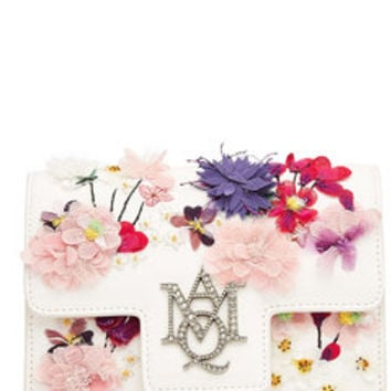 Embellished Leather Shoulder Bag - Alexander McQueen | WOMEN | US STYLEBOP.COM