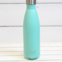 S'well Bottle: Turquoise Blue Satin Finish {17 oz}