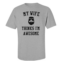 Wife thinks i'm awesome: Creations Clothing Art
