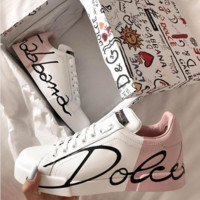 shosouvenir Dolce & Gabbana DG Pink Sports and leisure shoes