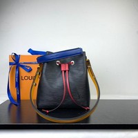 DCCK LV Louis Vuitton EPI LEATHER NEONOE BUCKET SHOULDER BAG