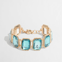 Factory crystal pillow bracelet : Bracelets | J.Crew Factory