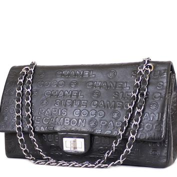 Chanel Unlimited 2.55 Double Flap Maxi Jumbo Classic Bag XL