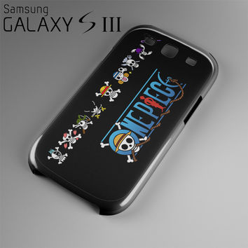One Piece Manga Characters Case For Samsung Galaxy S3, S4, S5, S6, S6 Edge OP4