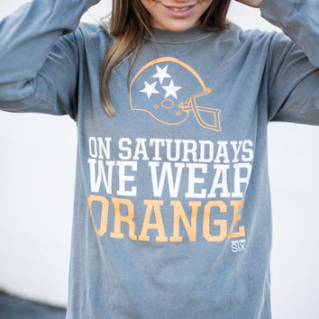 On Saturdays We Wear Orange University of Tennessee Vols Women's