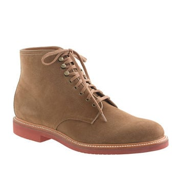 J.Crew Mens Kenton Suede Plain-Toe Boots