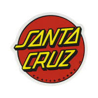 Santa Cruz Classic Dot Sticker Red Combo One Size For Men 27516134901