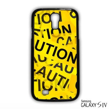 Caution Yellow Tape for Samsung Galaxy S3/4/5/6/6 Edge/6 Edge Plus phonecases