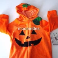 Pumpkin Costume Baby Infant 9m Koala Kids Boys Girls Kids Halloween New