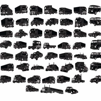 Heavy Trucks and Cars Custom Collections