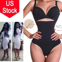 BODY SHAPER G STRING THONG QUALITY HIGH WAIST INVISIBLE TUMMY CONTROL