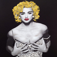 Madonna T-shirt Painted 3d Rock Tee