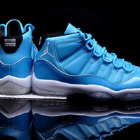 Air Jordan 11 Retro AJ11 North Carolina Blue Men Basketball Shoes US 8-13