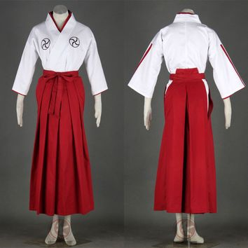 Rukia Cosplay Costume (soul Reaper Academy Uniform) From Bleach Anime