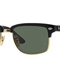 Ray-Ban RB4190 601 52-19 CLUBMASTER SQUARE Black sunglasses | Official Online Store US