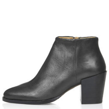 MERIBEL Ankle Boots - Black