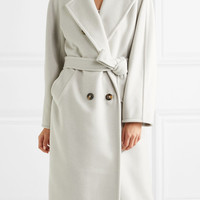 Max Mara - Belted wool and cashmere-blend coat