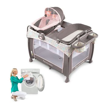 InGenuity Piper Washable Playard with Dream Centre