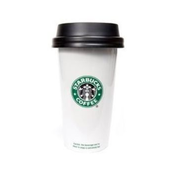 Starbucks Double Wall Ceramic Traveler, 12 fl oz