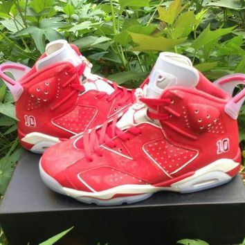 PEAPGE2 Beauty Ticks Air Jordan 6 Retro Aj6 X Slam Dunk Men Women Basketball Shoes