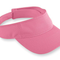 Augusta 6227 Athletic Mesh Visor - Pink
