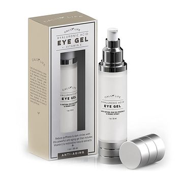 Hyaluronic Acid Eye Gel + Vitamin E with Dead Sea Minerals