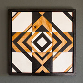 Reclaimed wood wall art, reclaimed wood, wall art, wall decor, Black and White Wall Art, industrial decor, wood decor, abstract art
