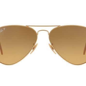 Cheap NEW SUNGLASSES RAY-BAN AVIATOR 58 MEDIUM RB3025 in Gold outlet