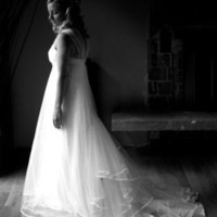 Tulle Eco Wedding dress | Dress | Wedding tulle eco gown lace | UsTrendy