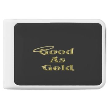 Good as Gold Power Bank