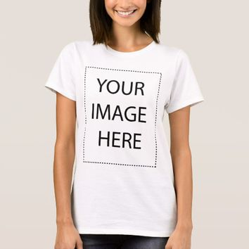 Create Your Own Custom Women Basic T-Shirt