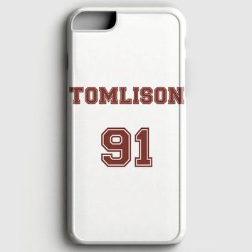 Louis Tomlinson Shirt Tomlinson 91 iPhone 6 Plus/6S Plus Case