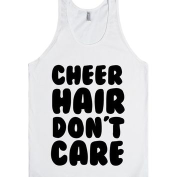 CHEER HAIR DON'T CARE | Tank Top | SKREENED