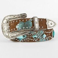 Angel Ranch Studded Belt - Women's Accessories | Buckle