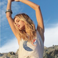 Grateful Dead Destroyed Tank - Rock - Collections - Womens