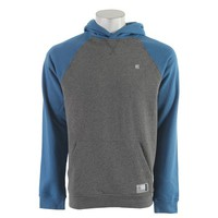 On Sale Etnies Classic P/O Hoodie Grey/Blue 2013