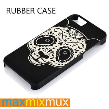 Panda Sugar Skull iPhone 4/4S, 5/5S, 5C, 6/6 Plus Series Rubber Case