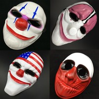 New Fashion 1PC PVC Scary Clown Mask Halloween Mask For Antifaz Party Mascara Carnaval Fancy Dress Costume