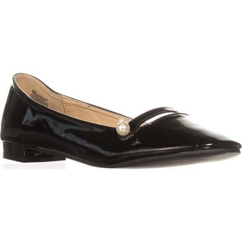 Wanted Mari Mary Jane Ballet Flats, Black Patent, 8.5 US