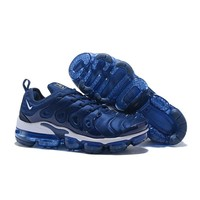 "Nike Air VaporMax Plus ""Navy White"" VM Tn Running Shoes - Best Deal Online"