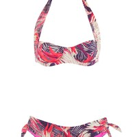 Kea Tropical Night Four Way Underwire Bikini