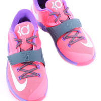 KD VII HYPER PUNCH/HYPER GRAPE/DK MAG 669942-601 KIDS GRADE SCHOOL NIKE