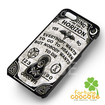 BMTH ouija board black and white -1nn for  iPhone 6S case, iPhone 5s case, iPhone 6 case, iPhone 4S, Samsung S6 Edge