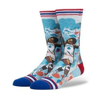 Stance x Todd Francis NBA Legends Authentic Men's Crew Socks - ERVING - L/XL