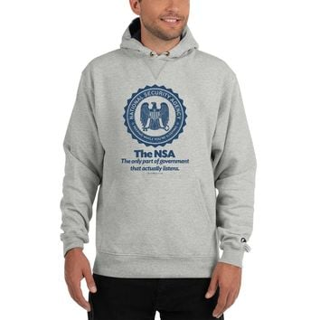 The NSA Champion Heavy Pullover Hoodie