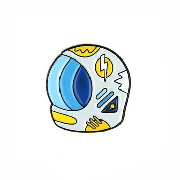 Space Helmet Pin