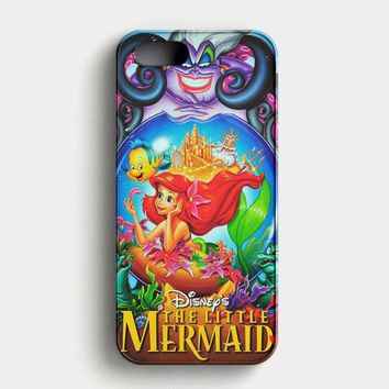Ariel Tattoo Doodle iPhone SE Case
