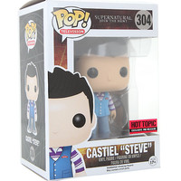 "Funko Supernatural Pop! Castiel ""Steve"" Vinyl Figure Hot Topic Exclusive Pre-Release"
