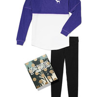 Varsity Crew and Leggings Gift Set - PINK - Victoria's Secret