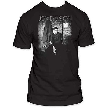JOY DIVISION PENSIVE MENS FITTED JERSEY TEE